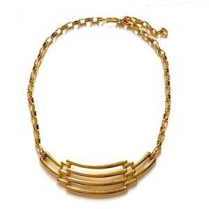 MONET Gold vintage necklace